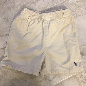 18 months Khaki Polo shorts.